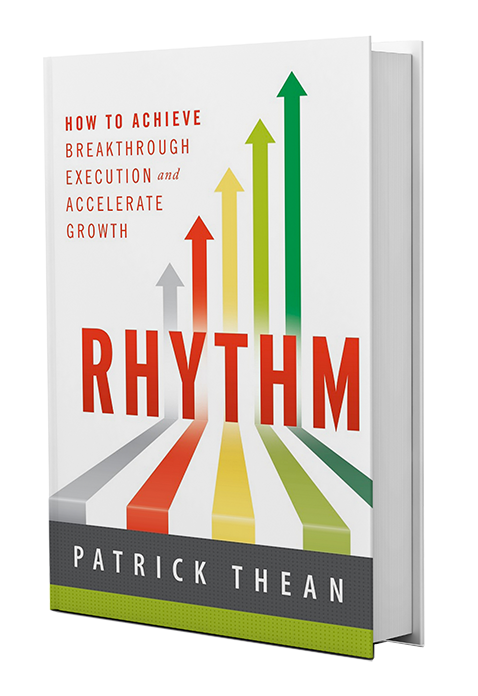 Rhythm Book by Patrick Thean, CEO of Rhythm Systems